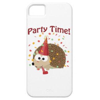 Party time! Confetti Hedgehog iPhone SE/5/5s Case