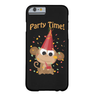 Party Time! Confetti Monkey Barely There iPhone 6 Case