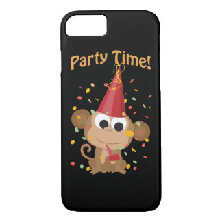 Party Time! Confetti Monkey iPhone 8/7 Case