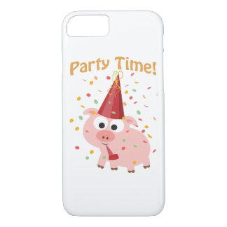 Party time confetti Pig iPhone 8/7 Case