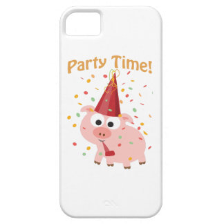 Party time confetti Pig iPhone SE/5/5s Case