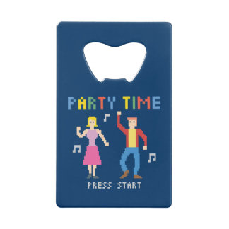 Party Time Credit Card Bottle Opener