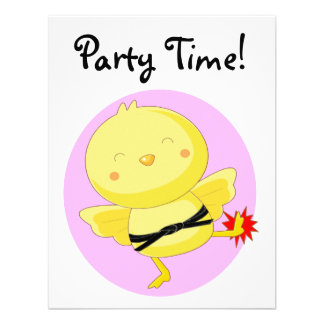 Party Time! Custom Announcements