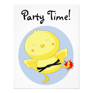 Party Time! Custom Invitation