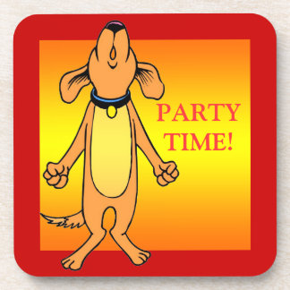Party Time  Design Coasters