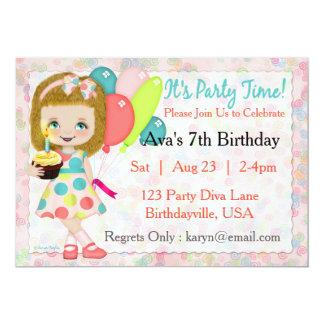 Party Time Diva Invitation