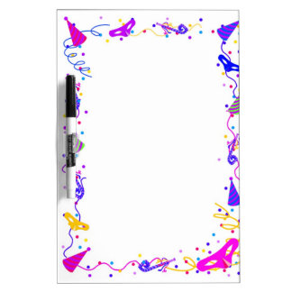 Party time Dry-Erase whiteboards