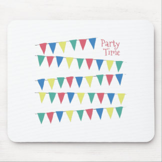 Party Time Flags Mouse Pads