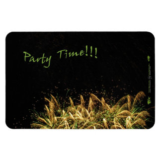 Party Time Flexible Magnet