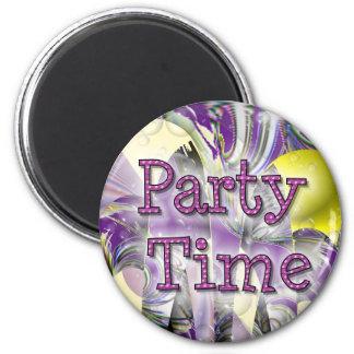 Party Time Fridge Magnet