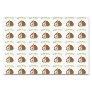 Party Time Hedgehog Tissue Paper