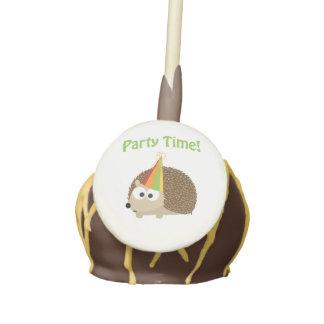 Party Time! Hedgehog Cake Pops