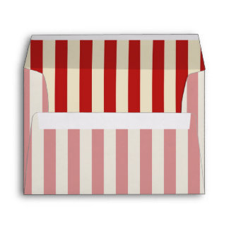 Party Time in Retro Popcorn Style Envelope