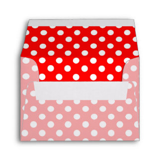 Party Time in Retro Rosie Style Envelope