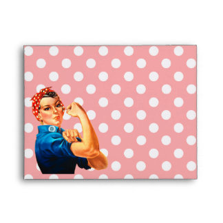 Party Time in Retro Rosie Style Envelopes