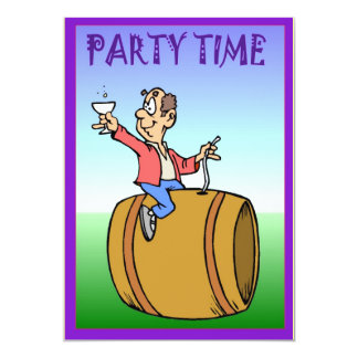 Party Time - Invitation