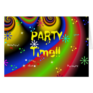 PARTY TIME!! Invitation