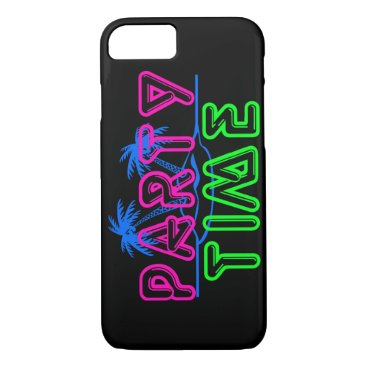 Beach Themed Party Time iPhone 7 Case