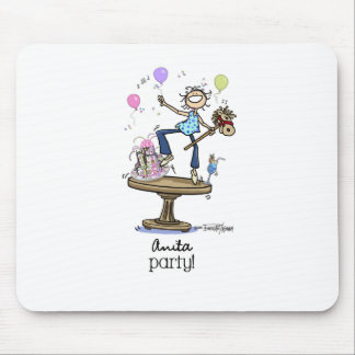 Party Time - Ladies Mouse Pad