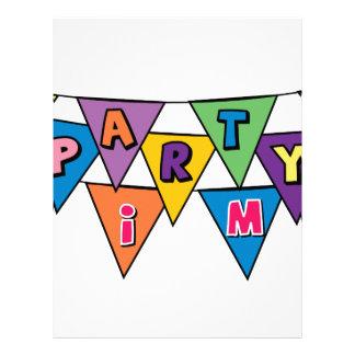 Party Time Letterhead