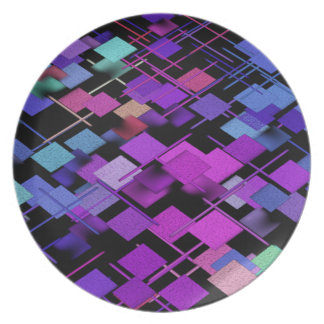 Party Time Melamine Plate