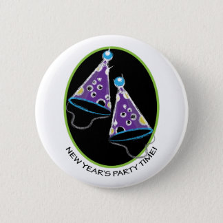 Party Time Pinback Button