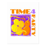 Party time post card