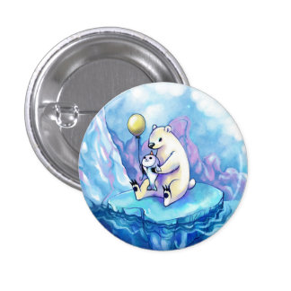 Party Time Seal Pinback Buttons
