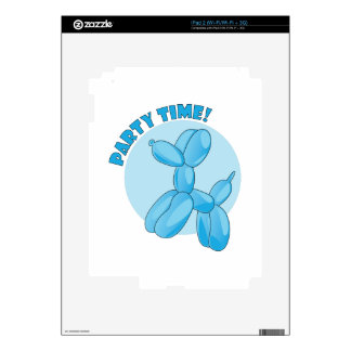 Party Time iPad 2 Decals