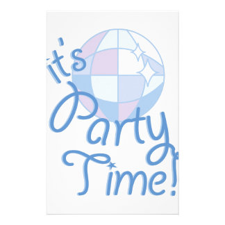 Party Time Stationery