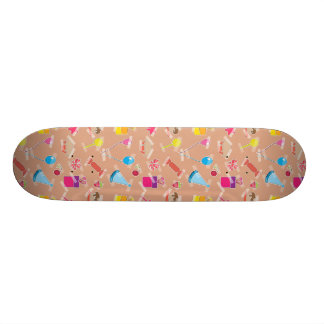 Party Time Taped Candy, Balloons & Cake Skateboard Deck