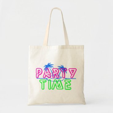 Beach Themed Party Time Tote Bag