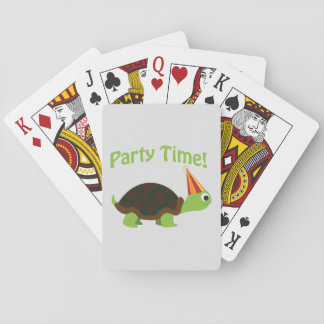 Party Time! Turtle Deck Of Cards