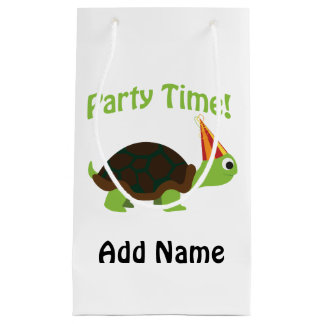 Party Time! Turtle Small Gift Bag