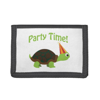 Party Time! Turtle Trifold Wallet