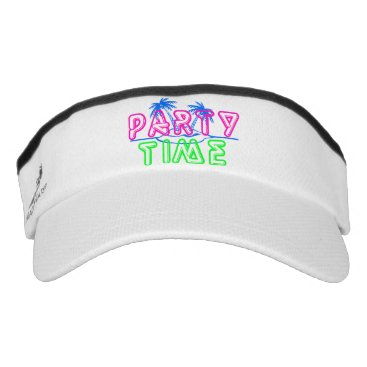 Beach Themed Party Time Visor