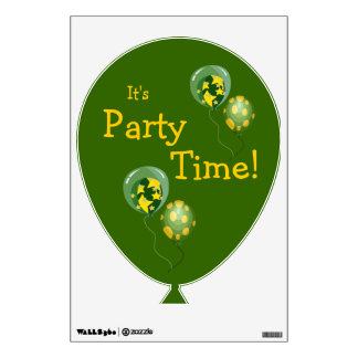 Party Time Wall Decall Room Decals