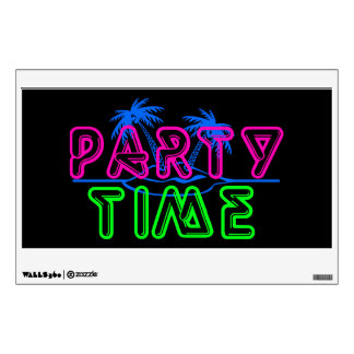 Party Time Wall Sticker