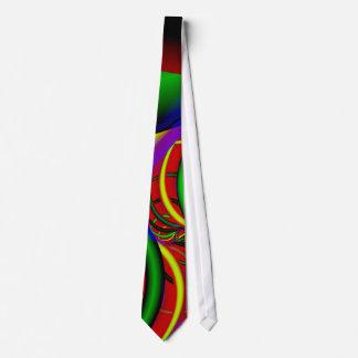 Party Tonight Fine Fractal Art Tie
