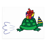 Party Tortoise Post Cards
