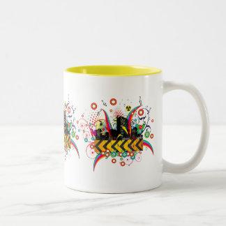 Party Town USA Two-Tone Coffee Mug