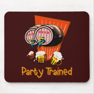 Party Trained Mouse Pad
