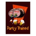 Party Trained Postcards