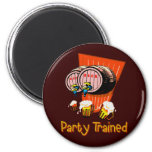 Party Trained Refrigerator Magnets