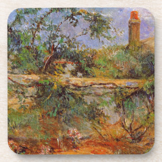 Party wall by Paul Gauguin Beverage Coaster