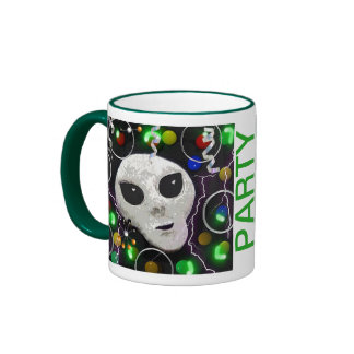 Party with an Alien Coffee Mug