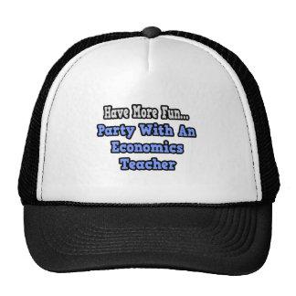 Party With An Economics Teacher Hat