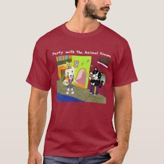 Party with the Animal Krewe - Dark Shirt