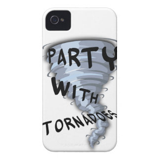 Party With Tornadoes Case-Mate iPhone 4 Case
