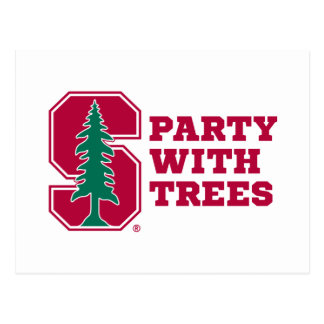 Party With Trees 2 Post Card